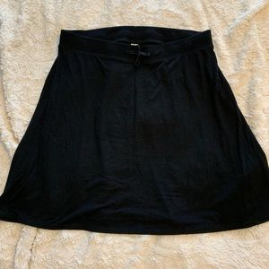 Old Navy drawstring cotton skirt
